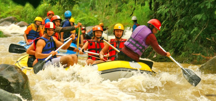 Whitewater Rafting in Phuket and Phang Nga